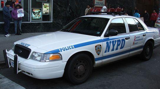 nypd bulletproof patrol cars
