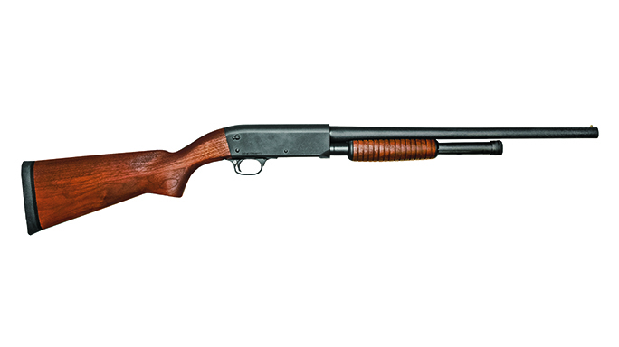 ithaca pump-action shotguns