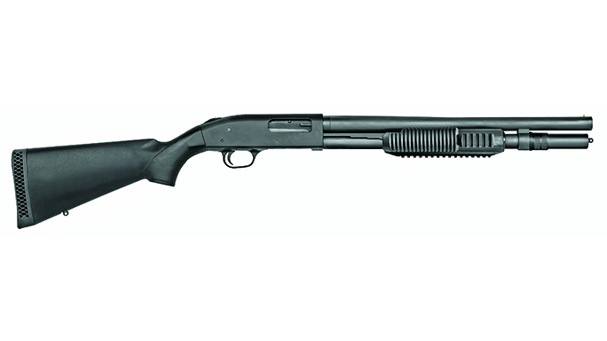 mossberg pump-action shotguns