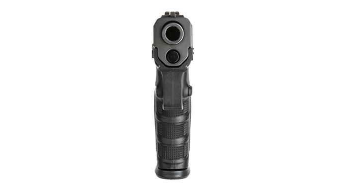 Beretta APX Pistol barrel view