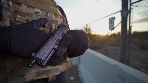 VP9 tactical pistols
