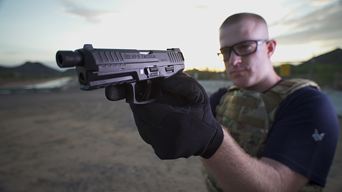 hk vp9 tactical gun