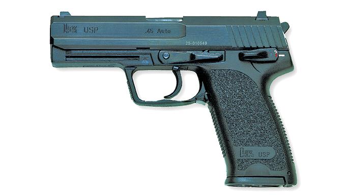 hk 45 acp pistols