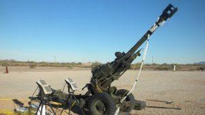 M119 howitzer muzzle brake