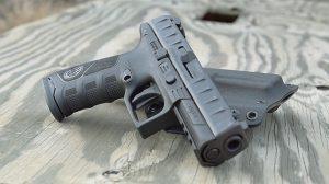 Beretta APX Pistol serrations