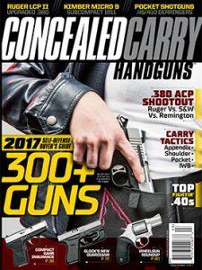 Concealed Carry Handguns 2017 No. 1 Cover