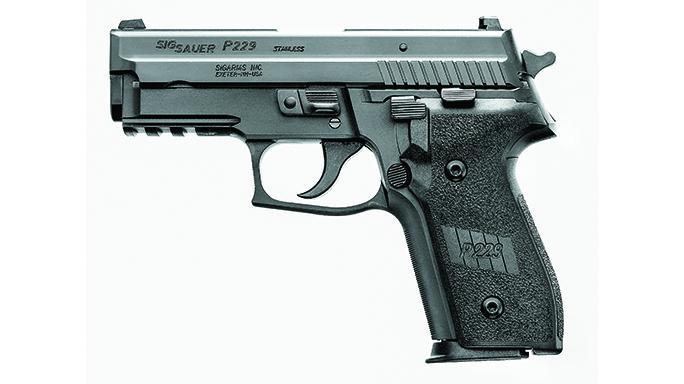 sig sauer p229 handgun