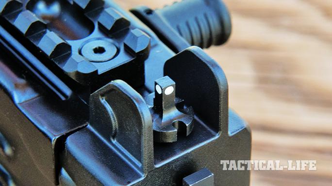 iwi uzi pro pistol sight