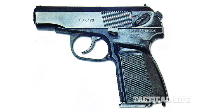 Makarov PMM-12 soviet pistols