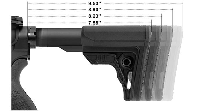 UTG S4 AR-15 stock