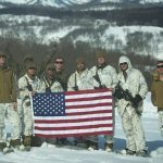 US Marines Cold Weather Training raise