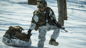 US Marines Cold Weather Training snow