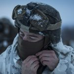 US Marines Cold Weather Training trabert