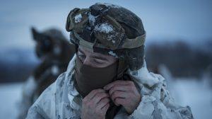 US Marines Cold Weather Training trabert