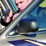 police patrol car gunfight