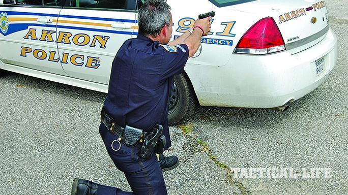 patrol car shootout