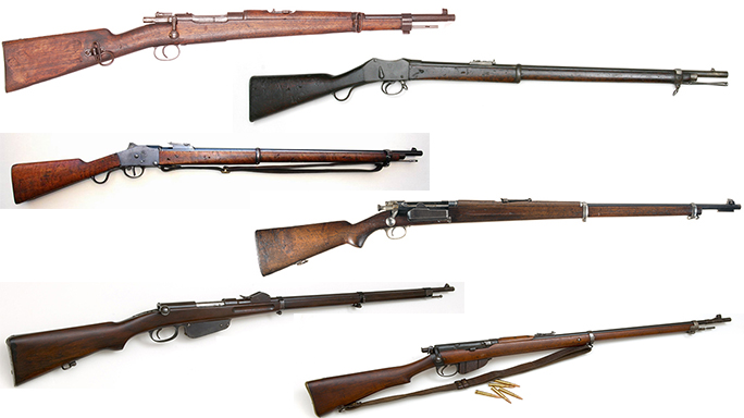 6 Rifles Used By The Afrikaners During The Second Boer War