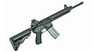 Lewis Machine & Tool CQBPS68 6.8 SPC rifle