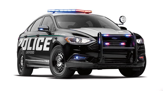Ford Police Responder Hybrid Sedan vehicle