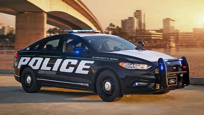 Ford Police Responder Hybrid Sedan car