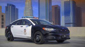 Police Responder Hybrid Sedan electric vehicle