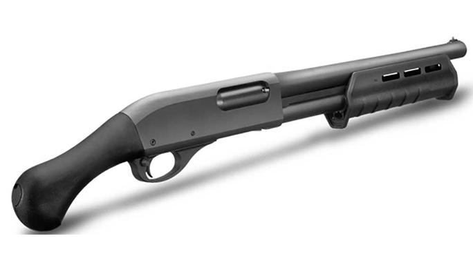 Remington Model 870 Tac-14 shotgun lead