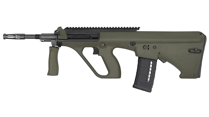 AUG A3 M1 Long Rail green