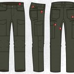 Vertx Fusion Stretch Tactical Pants features