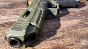 Agency Arms Glock 34 build front serrations
