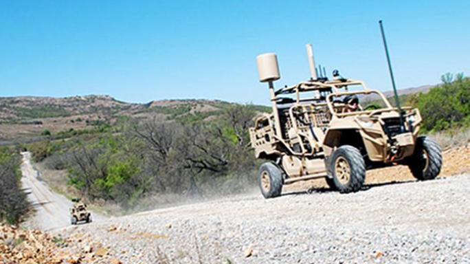 army hunter killer dune buggies