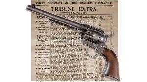 Colt Single Action Army Pistol Auction