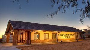 Texas Road Trip American Sportsman Shooting Center building