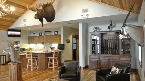 Texas Road Trip American Sportsman Shooting Center lounge