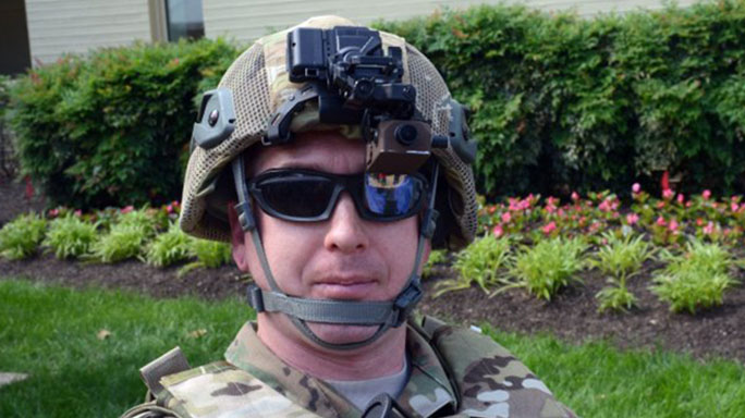 U.S. Army tactical augmented reality heads up display