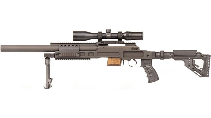 B&T SPR300 rifle left side