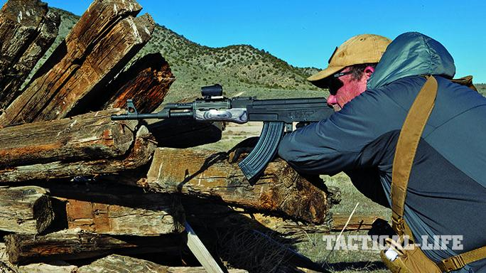 Century Arms C39 rifle gun test