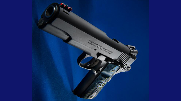 colt series 70 competition pistol