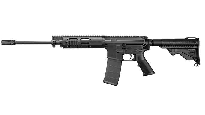 DPMS Lite 16M rifle left side
