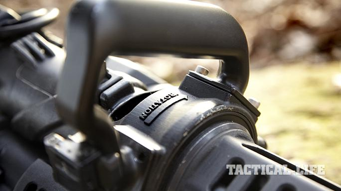Empty Shell XM556 microgun handle