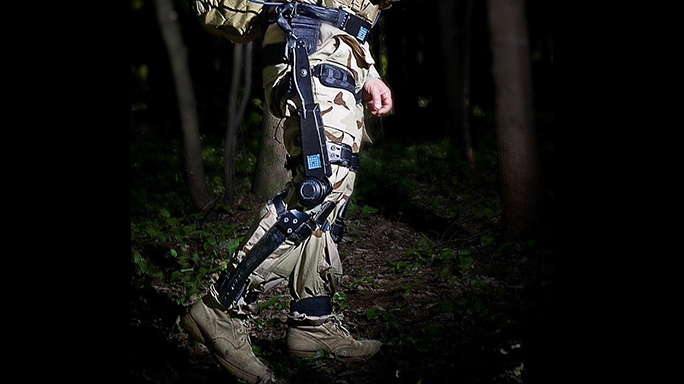 lockheed fortis k-srd exoskeleton