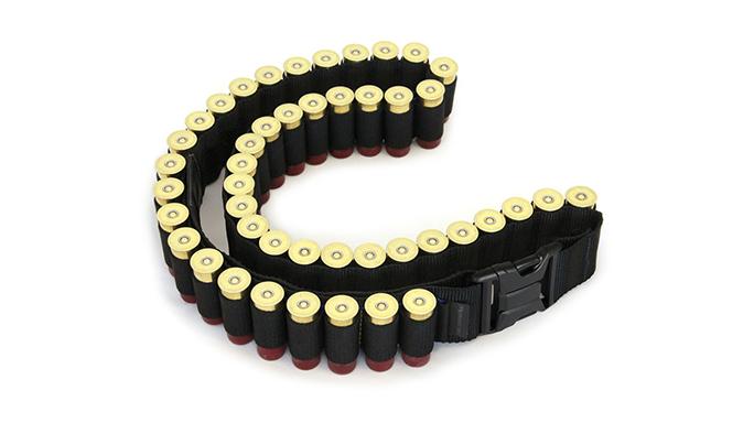 Mossberg Shotgun Bandolier shotgun shells