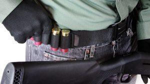 Mossberg Shotgun bandolier and belt ammo