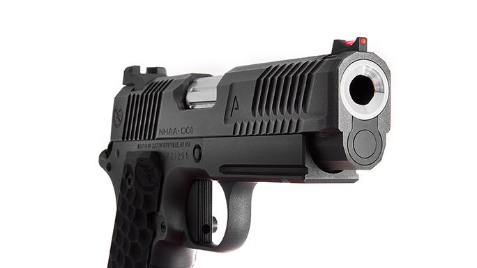 Nighthawk Agent 1 pistol muzzle