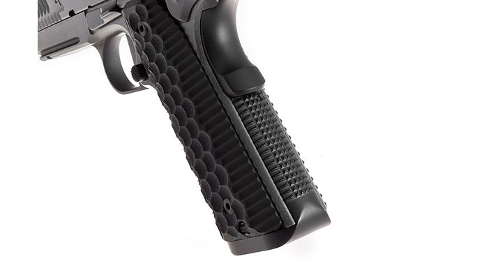 Nighthawk Agent 1 pistol frontstrap