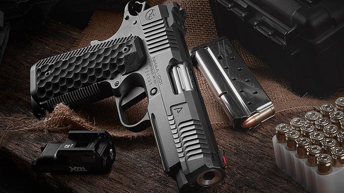 Nighthawk Agent 1 handgun