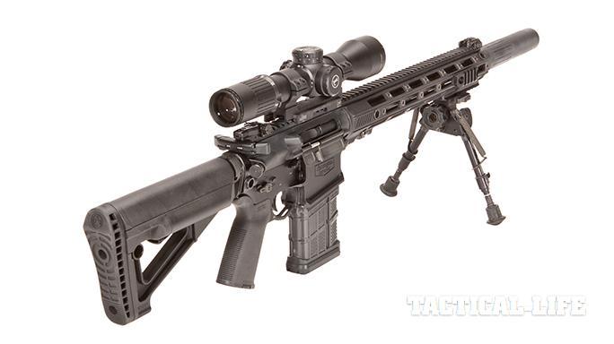 Remington R10 rifle rear