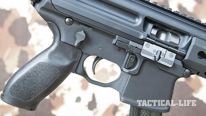 SIG MPX carbine safety