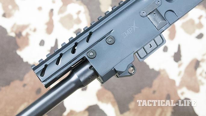 SIG MPX carbine rail