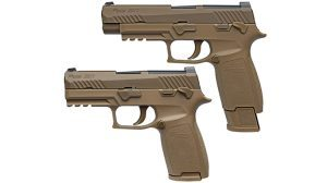 sig sauer p320 pistol us army 101st Airborne Division