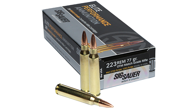 Sig Sauer Elite Performance Ammo new gear